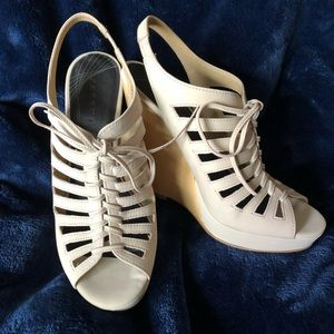 by Trouve Wedge Sandals New!